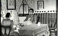 Nina Poljaković , Šlingovanja, tempera, 1971. godine