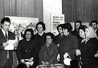 Otvorenje izložbe u Apatinu 1970. godine