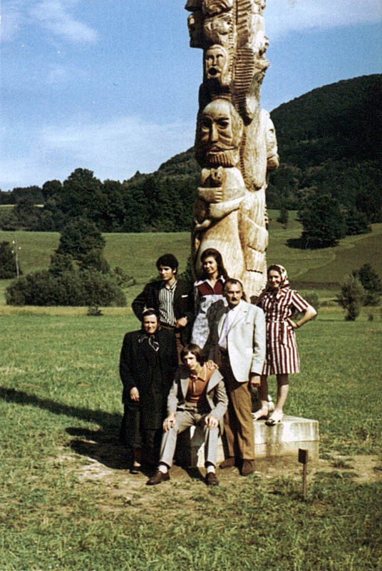 Otvorenje izložbe u Kostanjevici na Krki, Slovenija, 1971. godine