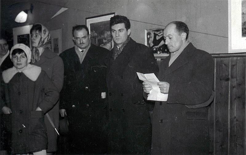 Otvorenje izložbe u Tavankutu 1962. godine