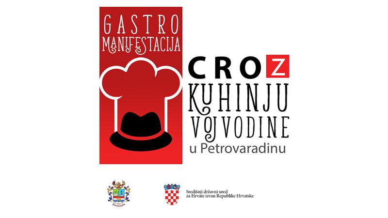 Manifestacija CROz kuhinju Vojvodine održana u Petrovaradinu