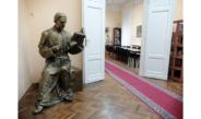 Gipsani model spomenika biskupu Ivanu Antunoviću u HNV-u